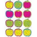 Ashley Scribble Apple Design DryErase Magnet