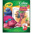 Crayola Trolls Color/Sticker Book
