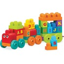 Mega Bloks ABC Learning Train Play Set