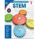 Carson-Dellosa Grade 1 Applying the Standards STEM Workbook Printed Book