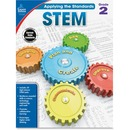 Carson-Dellosa Grade 2 Applying the Standards STEM Workbook Education Printed Book for Science
