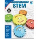 Carson-Dellosa Grade 3 Applying the Standards STEM Workbook Education Printed Book for Science