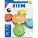 Carson-Dellosa Grade 4 Applying the Standards STEM Workbook Education Printed Book for Science