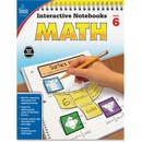 Carson-Dellosa Grade 6 Math Interactive Notebook Interactive Education Printed Book for Mathematics