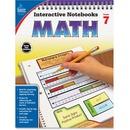 Carson-Dellosa Grade 7 Math Interactive Notebook Interactive Education Printed Book for Mathematics