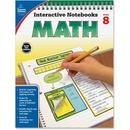 Carson-Dellosa Grade 8 Math Interactive Notebook Interactive Education Printed Book for Mathematics