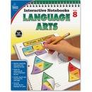 Carson-Dellosa Grade 8 Language Arts Interactive Notebook Interactive Education Printed Book for Art