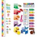 Creative Teaching Press Colors/Growth Chart Bulletin Board Set