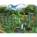 Mind Sparks 100-Piece Sparkly Ecosystem Puzzle