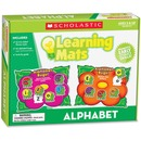 Scholastic Res. Grade K-2 Alphabet Learning Mats Kit