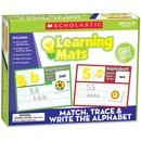 Scholastic Res. Grade K-2 Match/Write Alphabet Mats