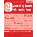 Scholastic Res. Grade 2 Vocabulary 240 Words Book Education Printed Book for Science/Social Studies by Mela Ottaiano