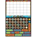 Ashley Superhero Magnetic Calendar Set