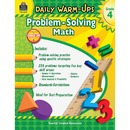 Teacher Created Resources Gr 4 Daily Math Problems Book Education Printed Book for Mathematics - English
