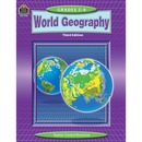Teacher Created Resources Grade 5-8 World GeoGradeaphy WorkBook Education Printed Book for Geography