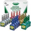 Crayola Washable Glitter Glue Classpack