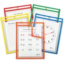 C-Line Super Reusable Dry Erase Pockets 5-pack