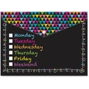 Ashley Daily Check Snap Cover Poly Folders