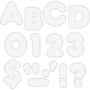 Trend 4-inch Casual Uppercase Ready Letters