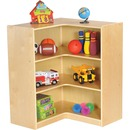 "ECR4KIDS Birch 36"" Corner Storage Unit"