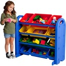 ECR4KIDS 4tier/12bin Storage Organizer