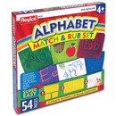 Roylco Alphabet Match and Rub Set