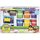 RoseArt Washable Sidewalk Chalk Paint Set
