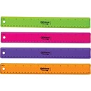 "OIC 12"" Flexible Plastic Ruler"