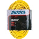 Aurora Tools XC499 Outdoor Vinyl Extension Cords with Light Indicator - Triple Tap