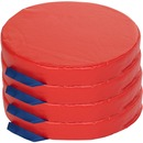 ECR4KIDS 4-Piece Round Carry Me Cushion