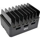 Tripp Lite 7-Port USB Charging Station Hub Quick Charge 3.0, USB-C, Storage
