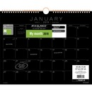 At-A-Glance Black Paper Monthly Wall Calendar