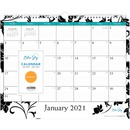 Blue Sky Barcelona Ruled Blocks Wall Calendar