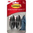 Command™ Medium Black Designer Hooks