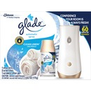 Glade Clean Linen Automatic Spray Kit