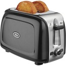 Oster 2-Slice Toaster, Black Metallic