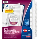 Avery® Extra Wide A-Z Tabs Ready Index Dividers