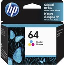 HP 64 Original Ink Cartridge - Tri-color