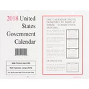 Unicor Fed Monthly Wall Calendar