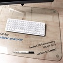 Desktex Glaciermat Glass Desk Pad
