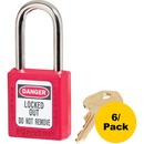 Master Danger Red Safety Padlock