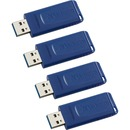 Verbatim 16GB USB Flash Drive - 4pk - Blue