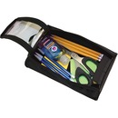 Advantus Carrying Case Pencil, Scissors, Pen, Notepad, Hand Sanitizer - Black