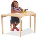 "ECR4KIDS 22"" Leg Play/Work Wood Table"