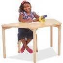 "ECR4KIDS 26"" Leg Play/Work Wood Table"
