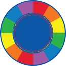 Flagship Carpets Favorite Color Round Seating Rug
