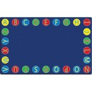 Flagship Carpets Alphabet Circles Seating Rug