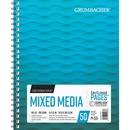 Grumbacher Mixed Media Wire-bound Notebook