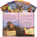 Shell TIME Informational Text Grade 6 Set 2, 5-Book Set Education Printed Book for Science/Social Studies/Language Arts - English