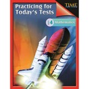 Shell Math Practice Tests - Level 4 Education Printed Book for Mathematics